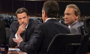 Ben Affleck, Bill Maher, Sam Harris
